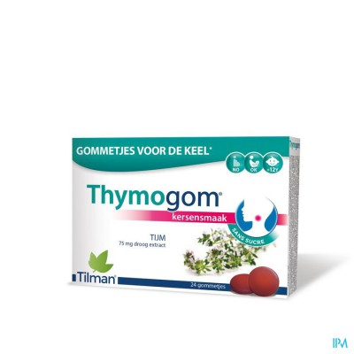 THYMOGOM GOMMETJES TIJMEXTRACT 24