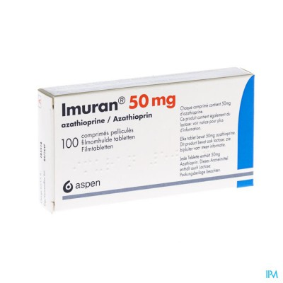 Imuran Pi Pharma Comp 100 X 50mg Pip