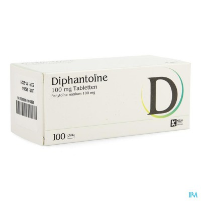 DIPHANTOINE 100MG COMP 100
