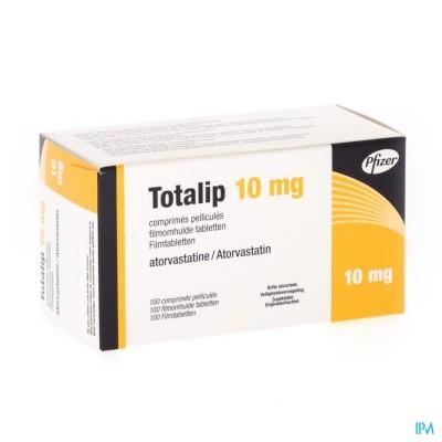 TOTALIP 10 MG PFIZER FILMOMH TABL 100 X 10 MG