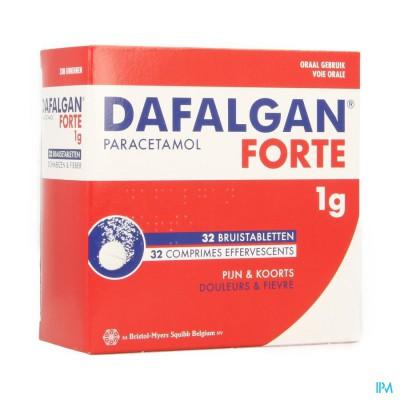 Dafalgan Forte 1g Citrus Bruistabl 32