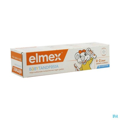 ELMEX TANDPASTA BABY 0-2J 50ML
