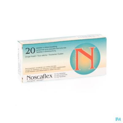 NOSCAFLEX NF TABL 20