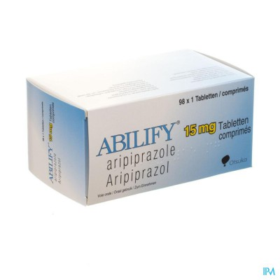 ABILIFY 15 MG COMP 98 X 15 MG