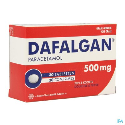 DAFALGAN 500 MG TABL 30