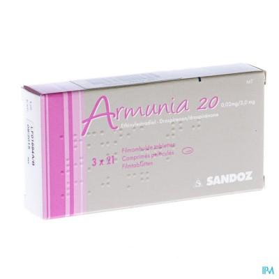 ARMUNIA 20 SANDOZ FILMOMH TABL 3 X 21