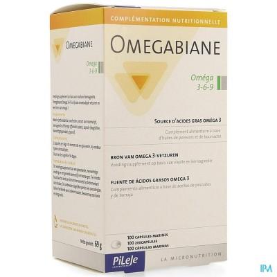 OMEGABIANE OMEGA 3-6-9 CAPS 100