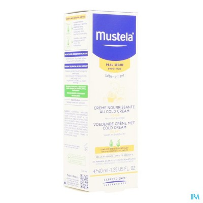 MUSTELA PS CREME VOEDEND COLD CREAM 40ML