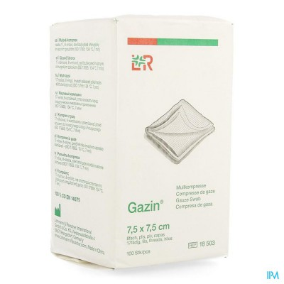 GAZIN KP N/STER 8P 7,5X 7,5CM 100 18503