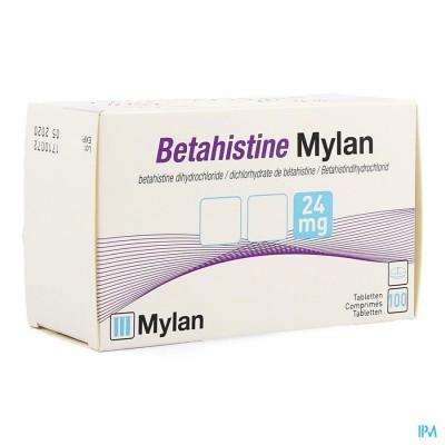 BETAHISTINE MYLAN 24 MG COMP 100 X 24 MG
