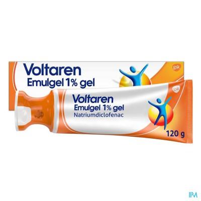 VOLTAREN EMULGEL 1 % GEL 120 G APPLICATOR DOP