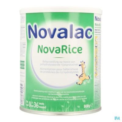 NOVALAC NOVARICE PDR 800G