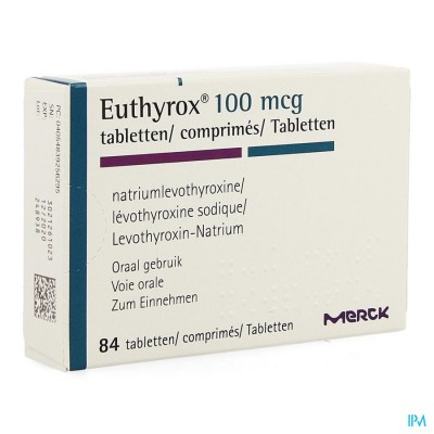 Euthyrox Comp 84 X 0,100mg