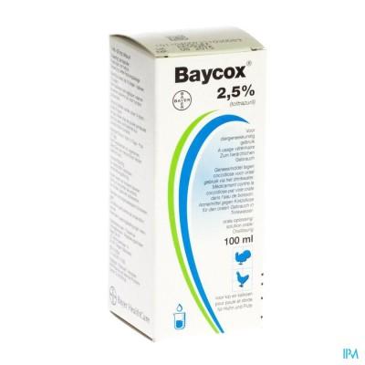 BAYCOX SOL 2,5% 100ML