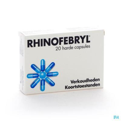 Rhinofebryl Caps 20
