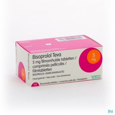Bisoprolol Teva 5mg Tabl 100