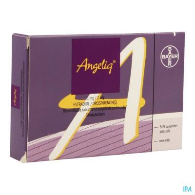 ANGELIQ 1MG/2MG FILMOMH TABL 3 X 28 PIP