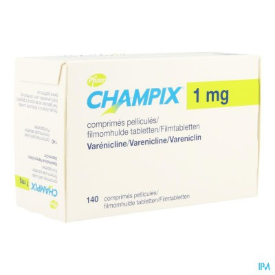 Champix Comp 140 X 1mg