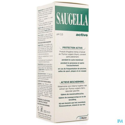 SAUGELLA ACTIVE EMULS 250ML