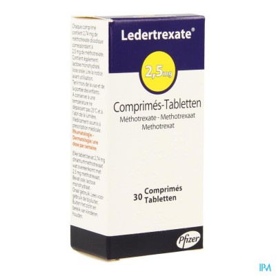 Ledertrexate Comp 30x2,5mg