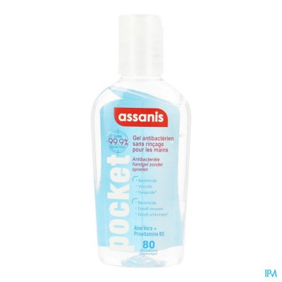 ASSANIS POCKET GEL CLASSIC 1X80ML