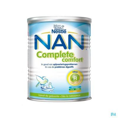 Nan Complete Comfort Zuigelingenmelk Pdr 800g
