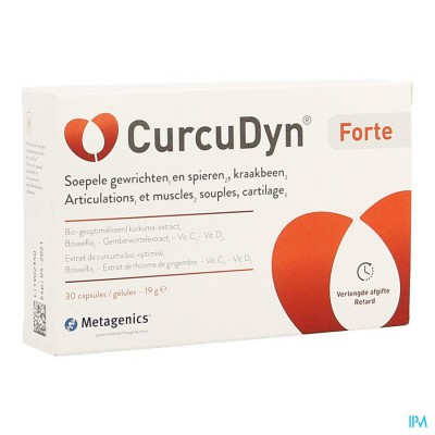 CURCUDYN FORTE CAPS 30 25634 METAGENICS