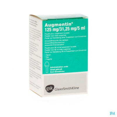 Augmentin Fl Sir 80ml 125mg/5ml