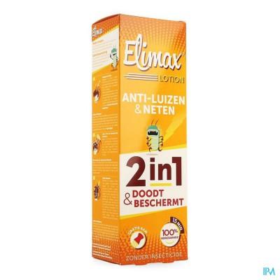 ELIMAX LOTION TEGEN LUIZEN FL 100ML
