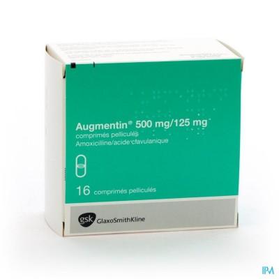 Augmentin Comp 16 X 500mg