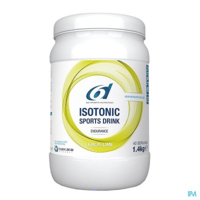 6D SIXD ISOTONIC SPORTS DRINK LEMON LIME 1,4KG