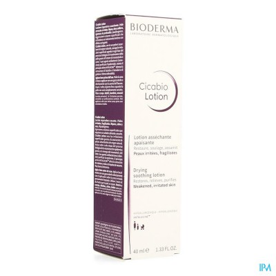 BIODERMA CICABIO LOTION BESCHADIGDE HUID 40ML