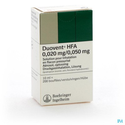 Duovent Hfa Aero Dos 10ml (200)