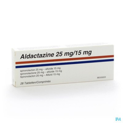 Aldactazine Comp 28 X 25mg/15mg