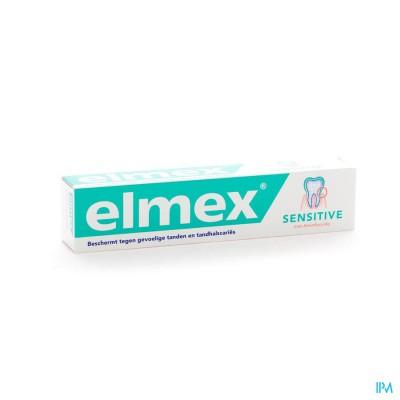ELMEX® SENSITIVE TANDPASTA TUBE 75ML