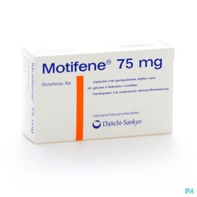 MOTIFENE CAPS 56 X 75 MG