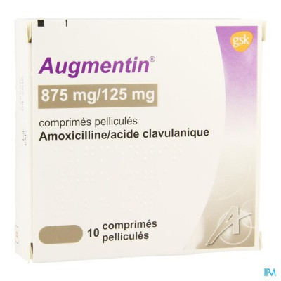 Augmentin 875mg Comp 10x875mg