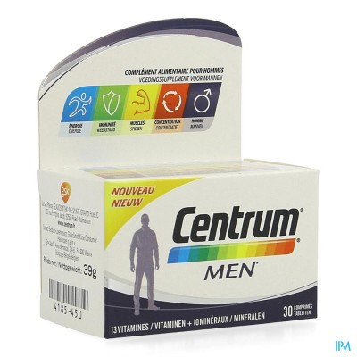CENTRUM MEN COMP 30