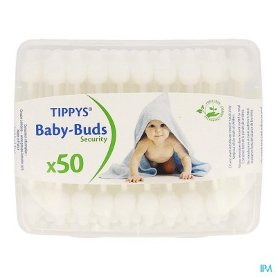 TIPPYS BABY BUDS PAPIEREN STAAFJES 50