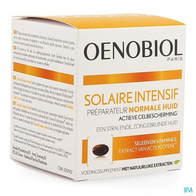 OENOBIOL ZON INTENSIEF NORMALE HUID NF CAPS 30