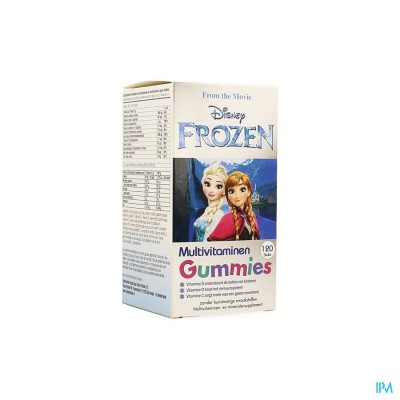 DISNEY MULTIVITAMINES FROZEN 120 GUMMIES