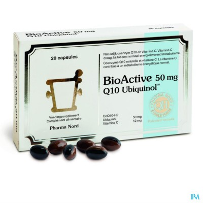 BIO ACTIVE Q10 50MG CAPS 20
