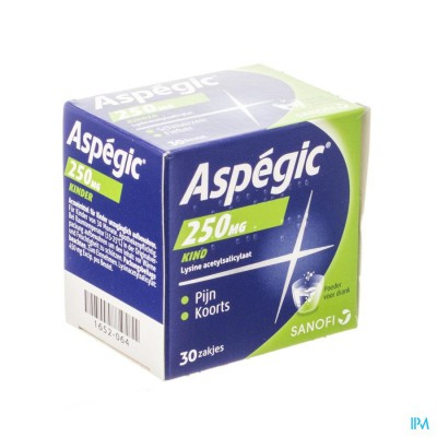 ASPEGIC 250 PULV 30X 250MG
