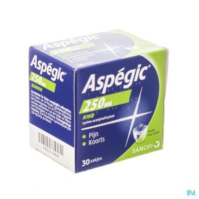 Aspegic 250 Pulv 30x 250mg