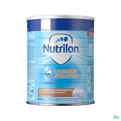NUTRILON LACTOSEVRIJ PDR 800G