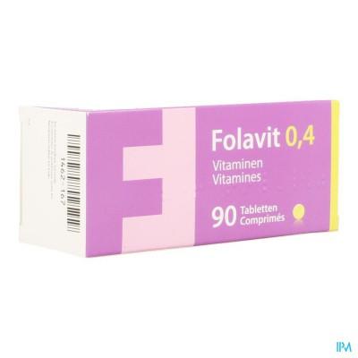 Folavit 0,4mg Tabl 90 X 0,4mg Cfr 3761517