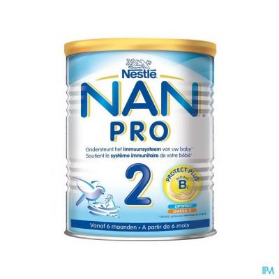 Nan Optipro 2 6-12m Opvolgmelk Pdr 800g