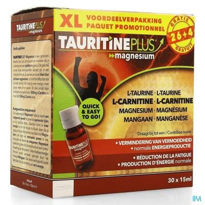 TAURITINE PLUS MAGNESIUM AMP 30X15ML CREDOPHAR