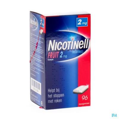 NICOTINELL FRUIT GOMME MACHER-KAUWGOM 96X2MG