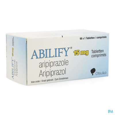 ABILIFY 15 MG PI PHARMA COMP 98 X 15MG PIP